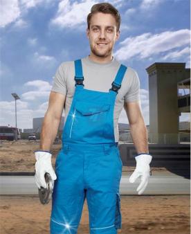 SUMMER - Kalhoty s laclem ARDON®SUMMER modré prodloužené  - O204140