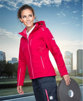 Softshellové bundy - Dámská softshellová bunda ARDON®FLORET růžová  - O204373