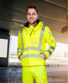 Softshellové bundy - Reflexní softshellová bunda ARDON®SIGNAL žlutá  - O204167