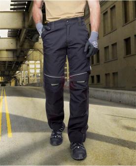 Montérkové kalhoty do pasu - Kalhoty ARDON®URBAN černé  - O203839