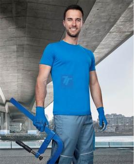 Pracovní trička - Tričko ARDON®TRENDY středně modré  - O204128