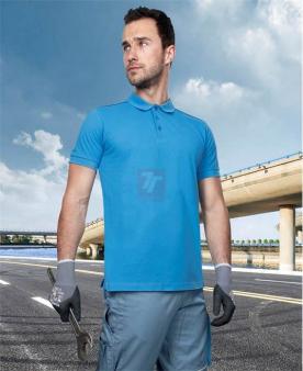 Pracovní trička - Polokošile ARDON®TRENDY světle modrá  - O204133