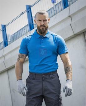 Pracovní trička - Polokošile ARDON®TRENDY středně modrá  - O204132