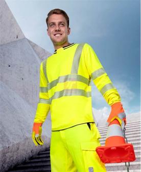 Tričko s dlouhým rukávem ARDON®SIGNAL žluté  - O203848