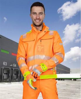 Pracovní montérky - Reflexní blůza ARDON®SIGNAL oranžová  - O204170