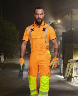 Reflexní oděvy - Reflexní kalhoty s laclem ARDON®SIGNAL oranžové  - O204160