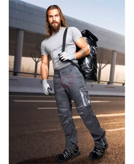 Montérkové kalhoty do pasu - Kalhoty ARDON®SUMMER tmavě šedé  - O204035