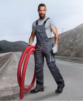 SUMMER - Kalhoty s laclem ARDON®SUMMER tmavě šedé prodloužené  - O204142