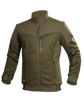 Zateplené zimní pracovní oděvy - Bunda ARDON®HYBRID khaki  - O204803