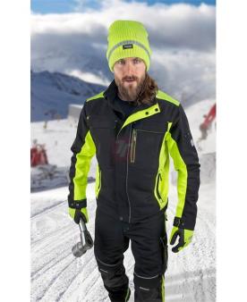 Zateplené zimní pracovní oděvy - Zimní blůza ARDON®NEON černo-žlutá  - O204417