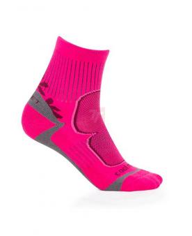 Spodní prádlo - Ponožky FLR TREK PINK  - O204769