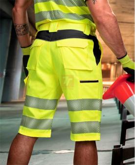 Montérkové kolekce - Reflexní šortky ARDON®SIGNAL žluto-černé  - O204703