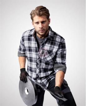 Pracovní košile - Košile ARDON®OPTIFLANNEL černá