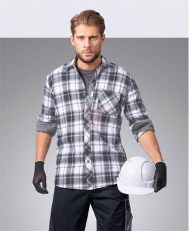 Pracovní košile - Košile ARDON®OPTIFLANNEL šedá