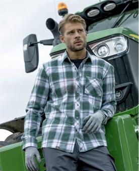 Pracovní košile - Košile ARDON®OPTIFLANNEL zelená