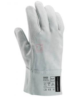 Kožené pracovní rukavice - Rukavice SIMON