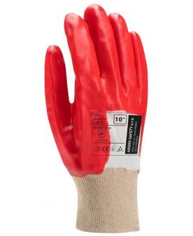 Povrstvené pracovní rukavice - máčené - Ochranné a pracovní rukavice 10 - R100221