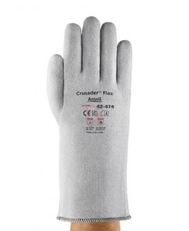 Tepelně odolné pracovní rukavice - Rukavice CRUSADER FLEX dlouhé (330 mm) 42-474