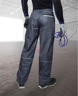 Zateplené zimní pracovní kalhoty - Zimní kalhoty ARDON®LINO K modré – DOPRODEJ