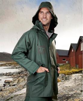 Nepromokavé pracovní oděvy do deště - Voděodolná blůza ARDON®AQUA 103 zelená  - O204988