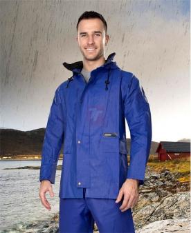 Nepromokavé pracovní oděvy do deště - Voděodolná blůza ARDON®AQUA 103 modrá  - O203169
