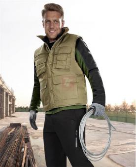 Zateplené zimní pracovní vesty - Vesta ARDON®TONY zelená  - O205020