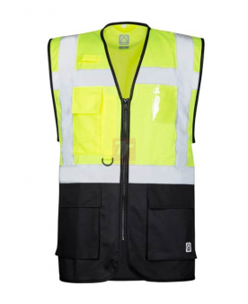 Síťovaná manažerská vesta ARDON®SIGNAL žlutá  - O204177