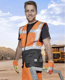 Reflexní vesty - Síťovaná manažerská vesta ARDON®SIGNAL oranžová  - O203290