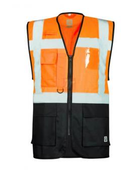 Síťovaná manažerská vesta ARDON®SIGNAL oranžová  - O203290