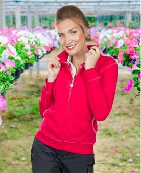Dámská mikina ARDON®FLORET růžová  - O203305