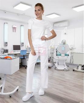 Gastro oděvy   pracovní oděvy nejen pro kuchaře - Dámské kalhoty ARDON®SANDER bílé  - O202889