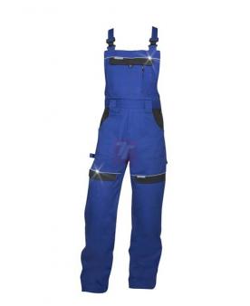 Pracovní kalhoty - Kalhoty s laclem ARDON®COOL TREND modré prodloužené  - O203817