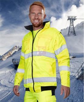 Reflexní pracovní bundy - Reflexní bunda ARDON®HOWARD žlutá  - O201370