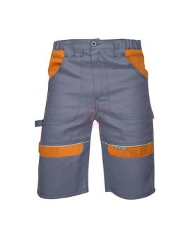 Pracovní kalhoty - Šortky ARDON®COOL TREND šedo-oranžové  - O204485