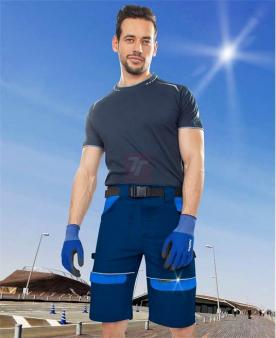 Pracovní kalhoty - Šortky ARDON®COOL TREND tmavě modré-modré  - O204484