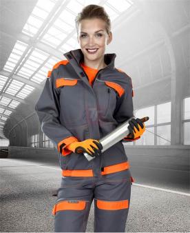 Dámská blůza ARDON®COOL TREND šedo-oranžová  - O204405
