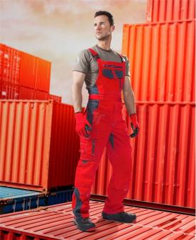Kalhoty s laclem ARDON®VISION červené zkrácené  - O203394
