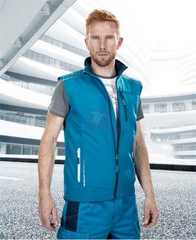 Montérkové vesty - Softshellová vesta ARDON®VISION modrá  - O203406