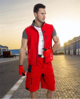 Montérkové vesty - Softshellová vesta ARDON®VISION červená  - O203405