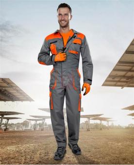 Pracovní kombinézy - Overal ARDON®2STRONG šedo-oranžový