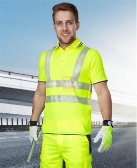 Reflexní oděvy - Reflexní polokošile ARDON®SIGNAL žlutá  - O204165