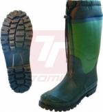 Zateplená zimní pracovní obuv - pracovní holínky zimní neopren - 3156