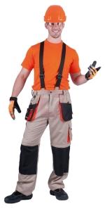 Montérky EMERTON od Australian line - pracovní kalhoty EMERTON SUMMER - O200422