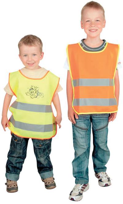 Dárky pro děti - reflexní vesta ALEX JUNIOR - O200790