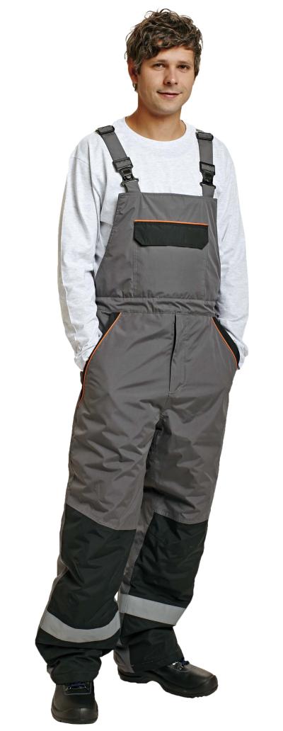 Zateplené zimní pracovní kalhoty - pracovní kalhoty zimní lacl EMERTON - O200832