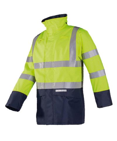 Reflexní pracovní oděvy pro cestáře - pracovní bunda ELLISTON 7219 - O200855