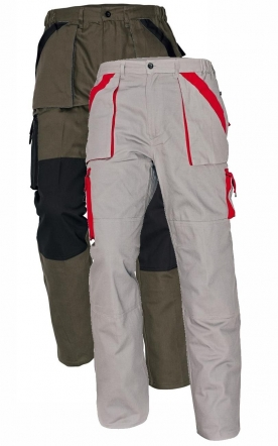 Pracovní montérky - pracovní kalhoty pas MAX - O200047