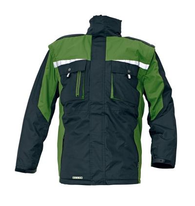 Zateplené zimní pracovní montérky - pracovní bunda zimní ALLYN - O200150