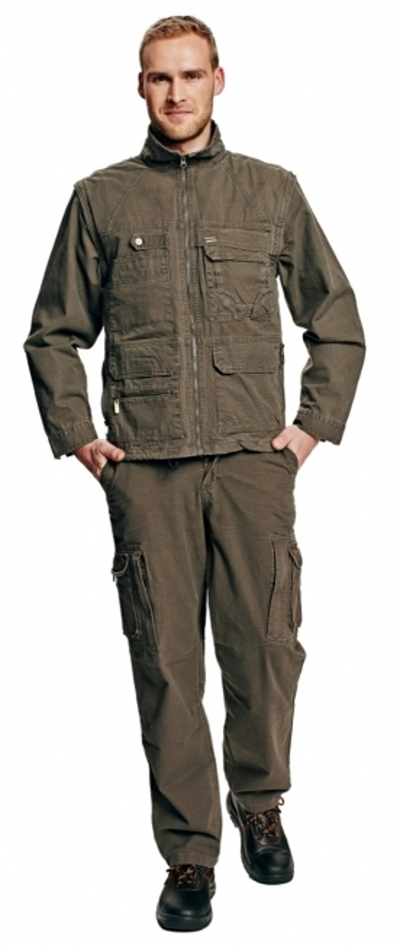 Pracovní kalhoty do pasu - pracovní kalhoty pas UKARI - 2714