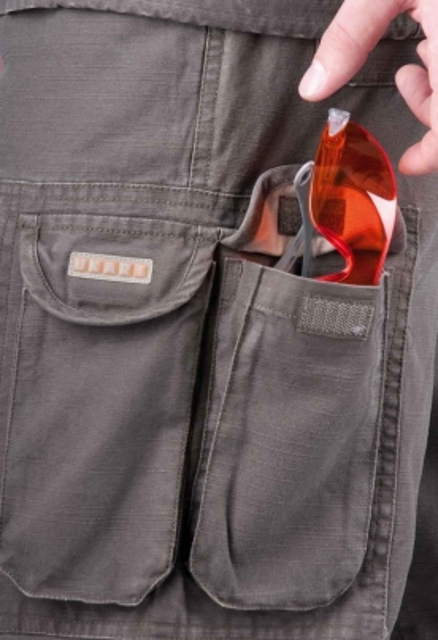Montérkové kalhoty do pasu - pracovní kalhoty pas UKARI - 2714